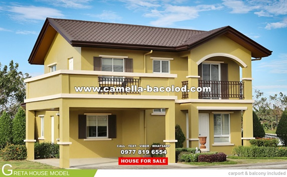 Camella Bacolod House and Lot for Sale in Bacolod Philippines