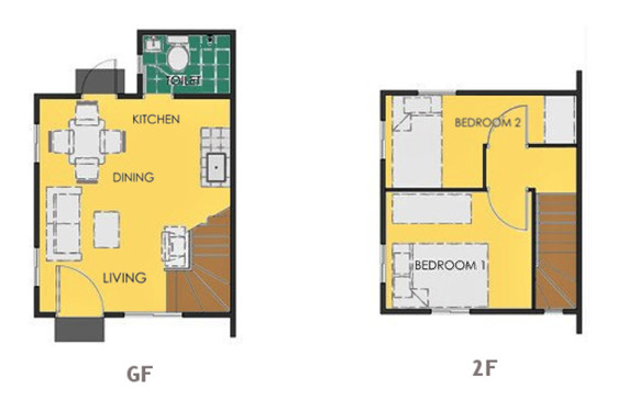 Ravena Floor Plan House and Lot in Bacolod