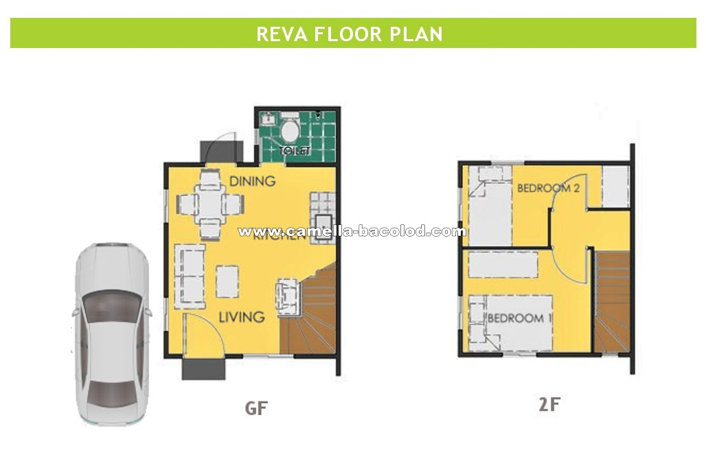 Reva  House for Sale in Bacolod