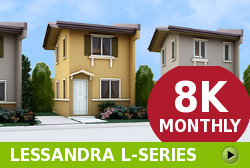 Lessandra Affordable Houses in Camella Bacolod