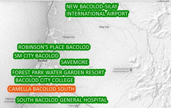 Bacolod Property Vicinity Map